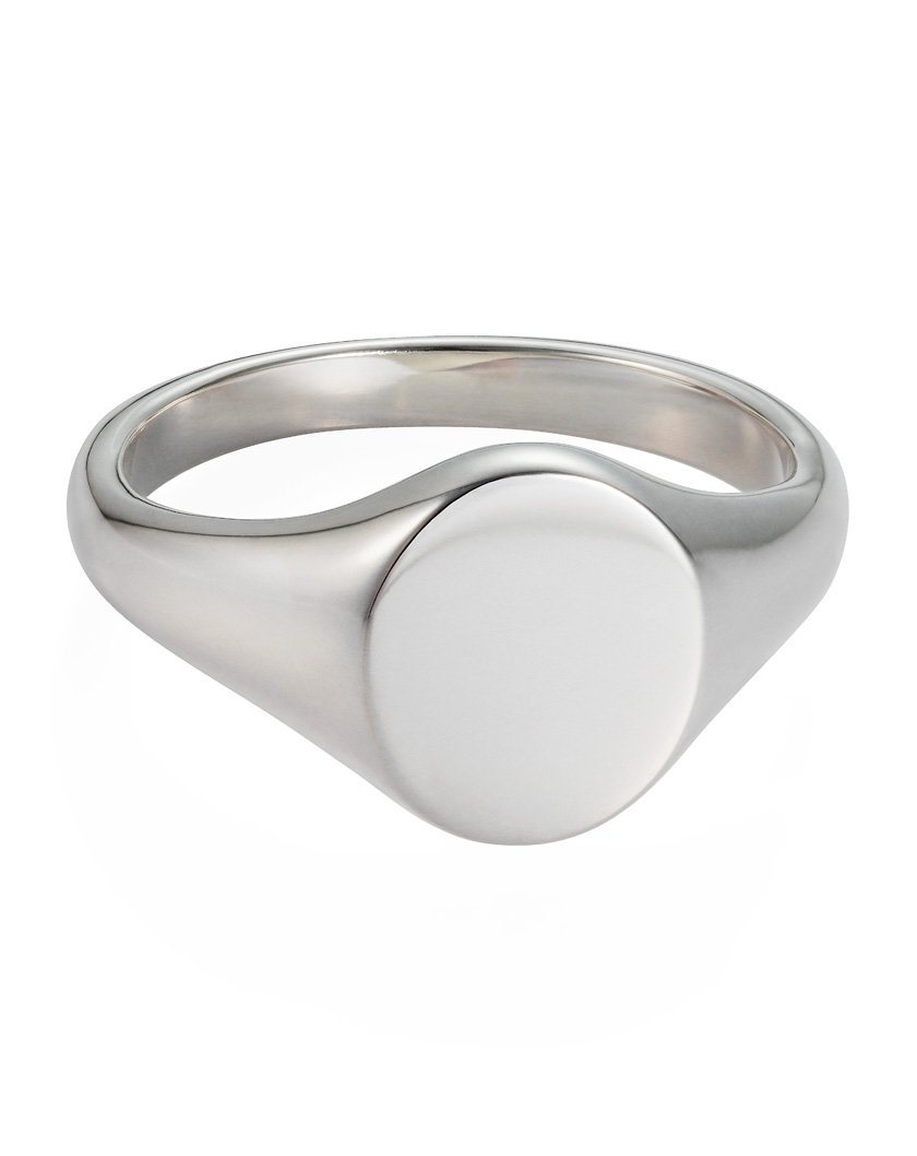 Monogram Oval Signet Ring