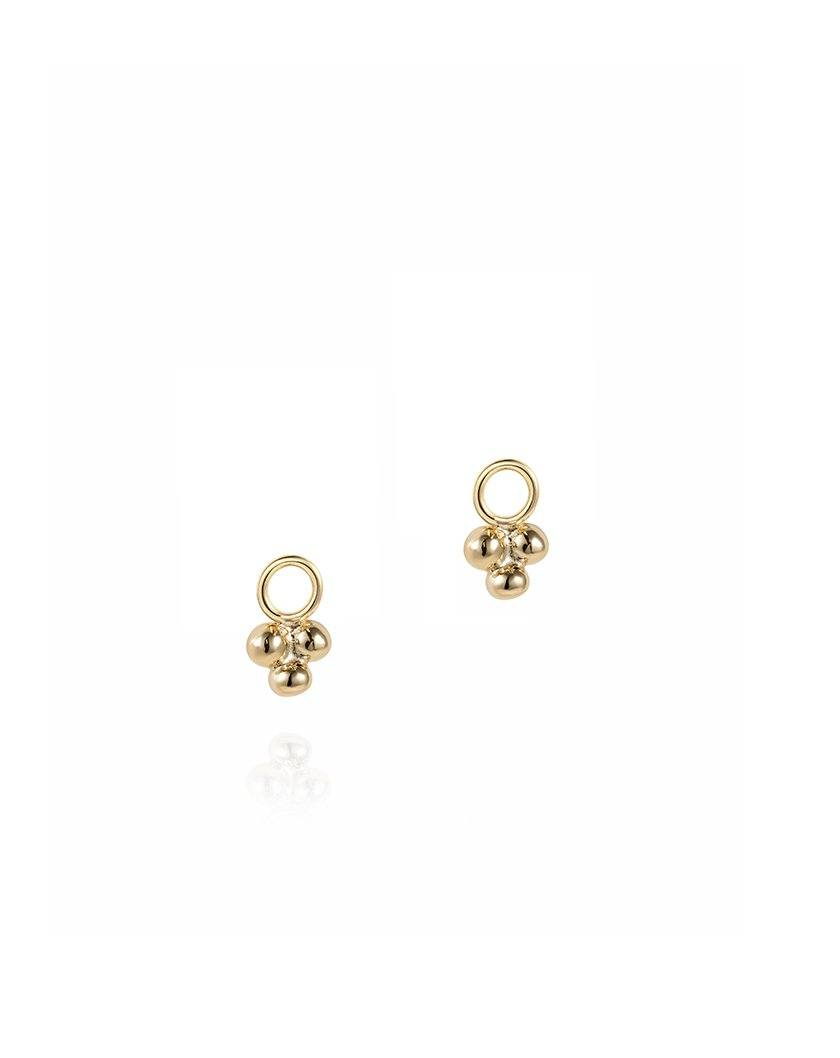 Sea Foam Charms - 9ct Yellow Gold