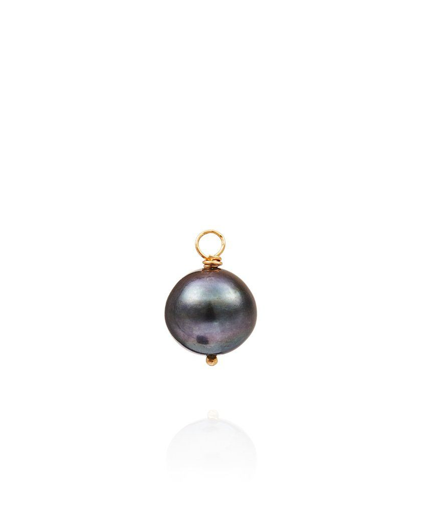 Black Balloon Charm