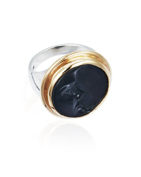 Because The Night Cameo Ring