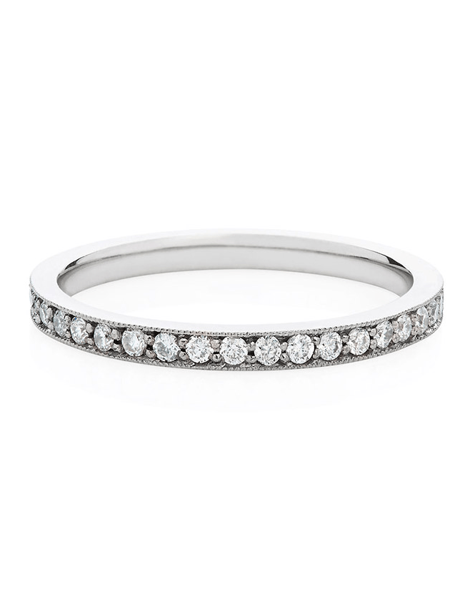 Premium Diamond Eternity Ring in 18ct White Gold - Laura Lee Jewellery - 1