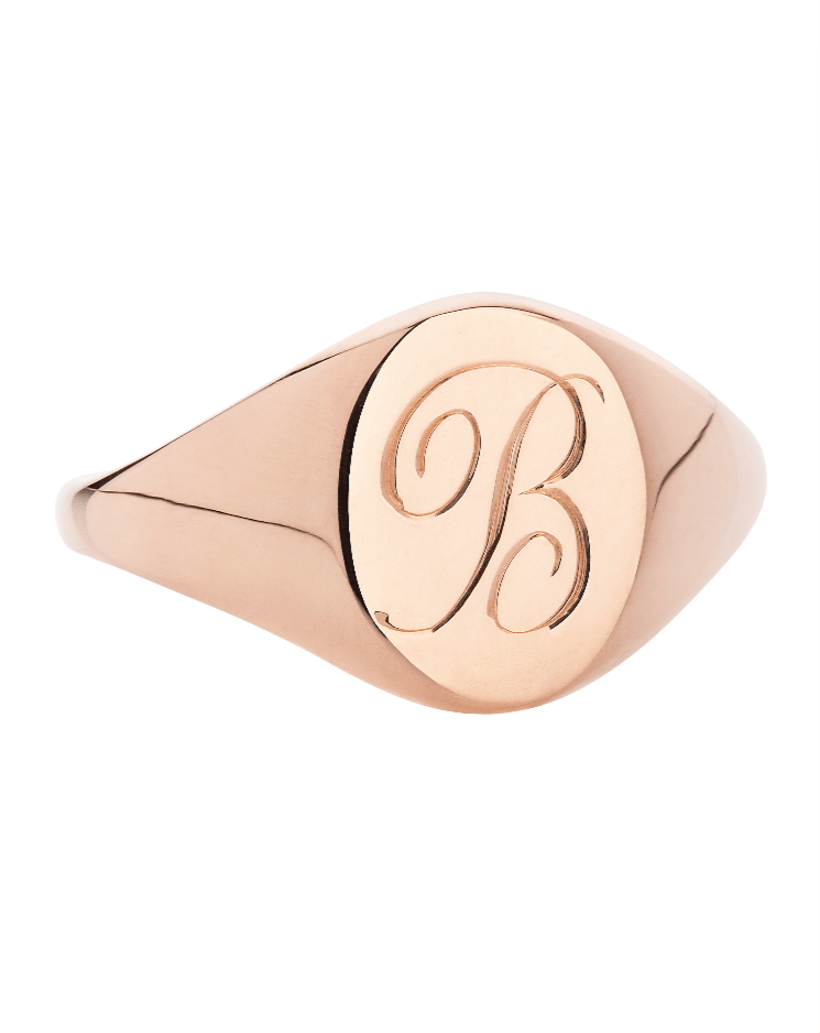The Initial Signet Ring - Laura Lee Jewellery - 1
