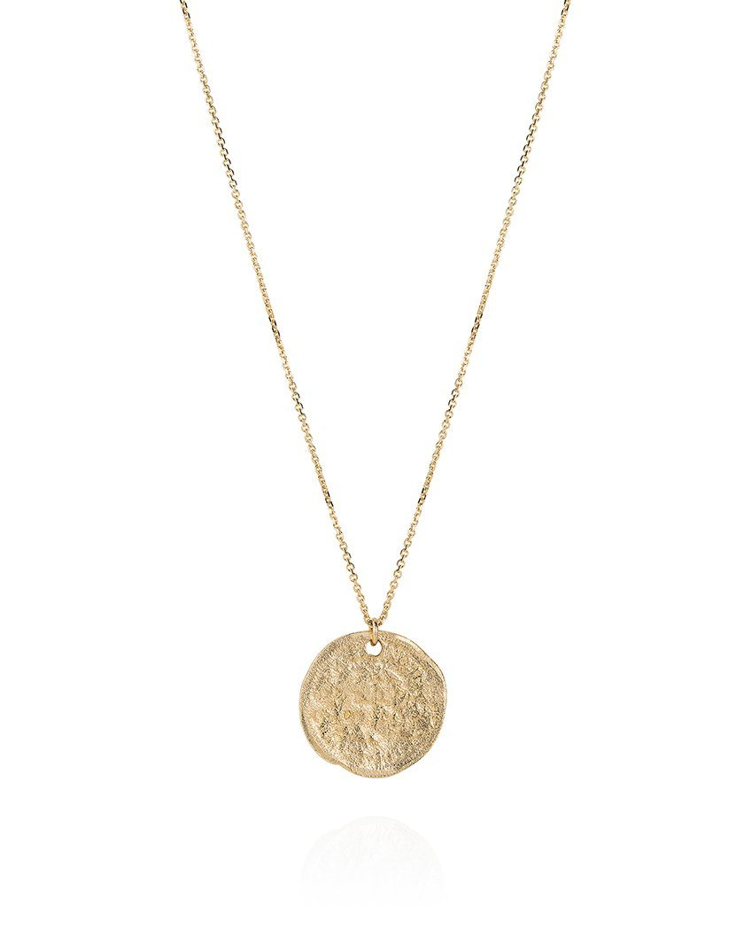 Threepence Weathered Coin Necklace