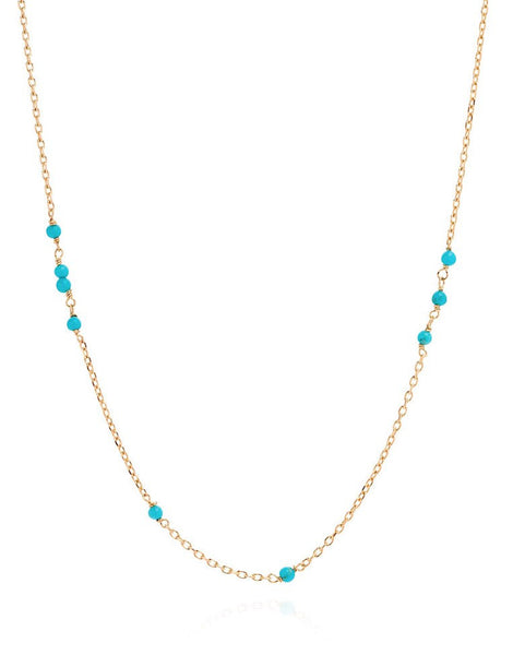 Turquoise Sleeper Necklace - Laura Lee Jewellery - 1