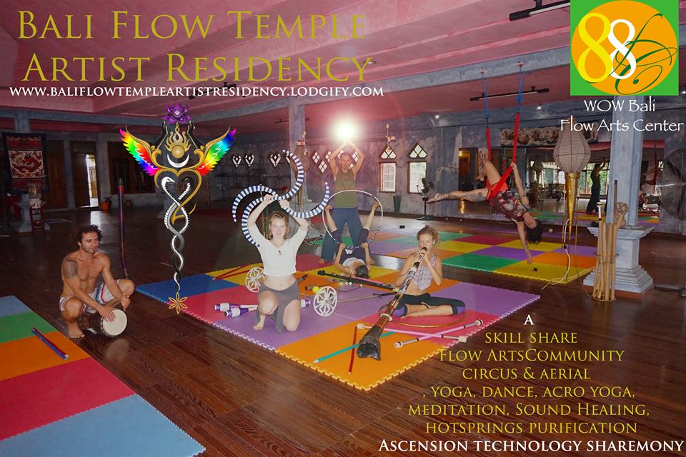 Bali Flow Temple Artist Residency Program 2018