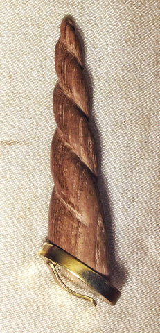 Unicorn Horn - Natural Wood - Small
