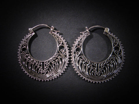 Oshun Earrings - Sterling Silver