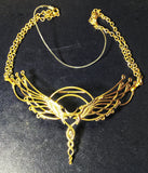Caduceus Tiara - 24K Gold Plated ~ Unicorn Horn INCLUDED!!