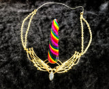 Unicorn Horn - Rainbow - Women's/ Small