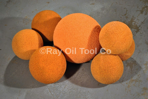 "3"" Sponge Foam Wiper Balls for Drill Pipe Cleaning"
