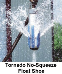 Tornado No-Squeeze Float Shoe