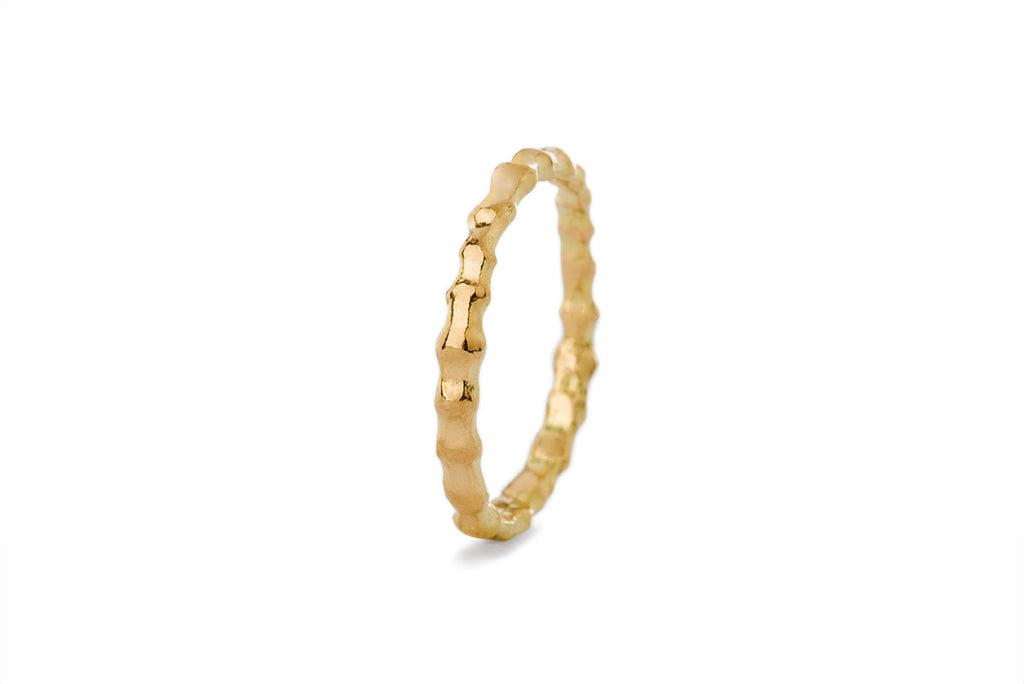 Milagros - ring - gold spine