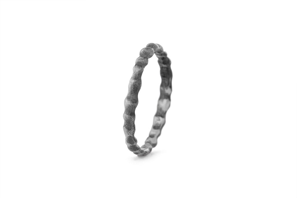Milagros - ring - silver spine