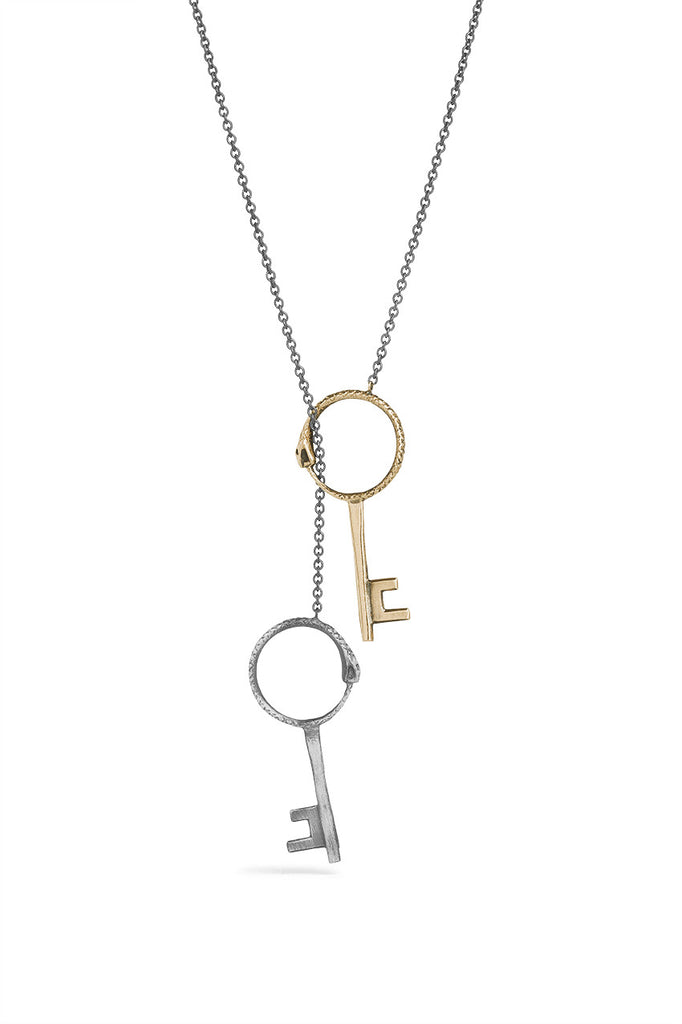 Tools - Double Key Necklace
