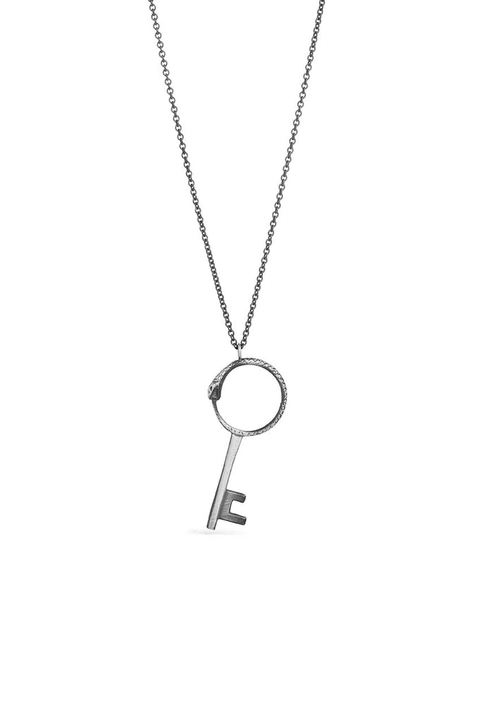Tools - Silver Key Necklace