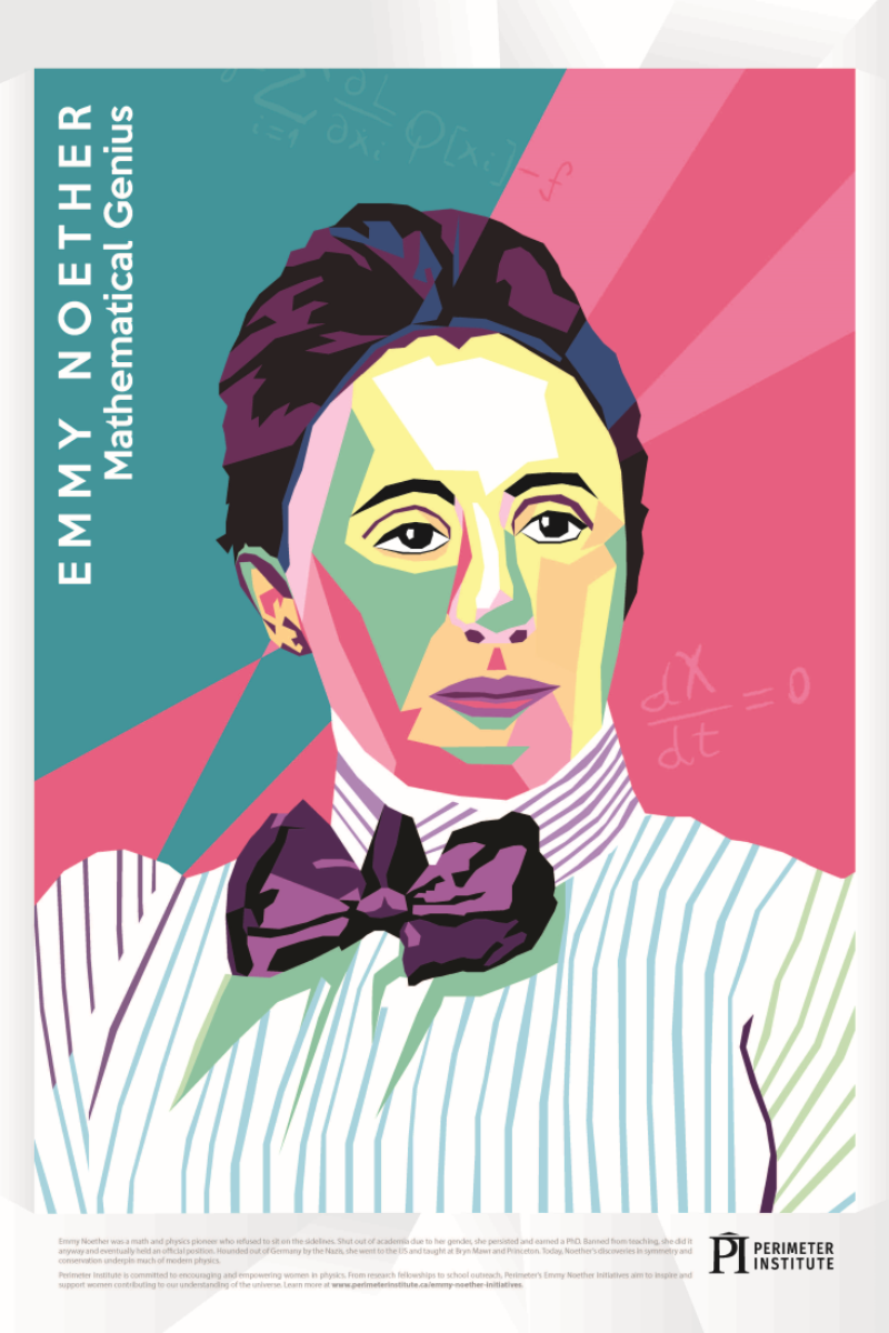 Forces of Nature: Emmy Noether