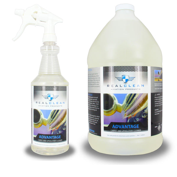 Advantage Aircraft Carpet and Upholstery Cleaner - Real Clean Products