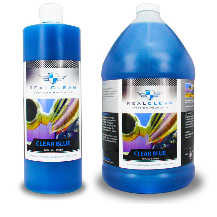 Clear Blue Premium Aircraft Wash - Real Clean Products
