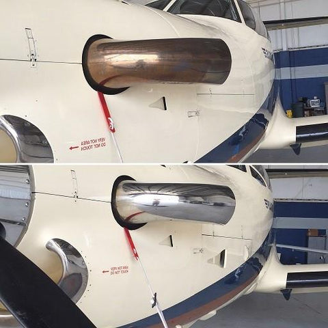 NewStax Aircraft Exhaust Polishing System - Real Clean Products