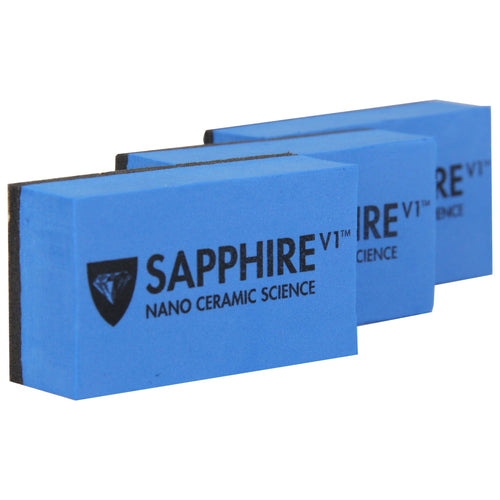 Sapphire v1 Applicator Sponge (pack of 3) - Real Clean Products