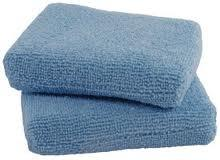 Microfiber Applicator Sponges- 2 pack -Premium Grade - Real Clean Products