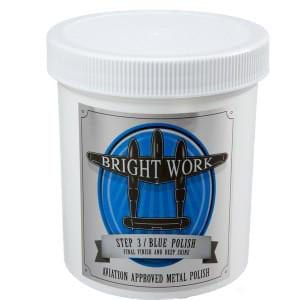 Bright Work Blue Polish - Real Clean Products