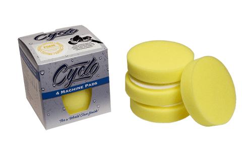 Cyclo Yellow Cutting Pads - Real Clean Products
