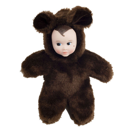 Sweetheart Soft Dolls Animal Babies Brown Bear - Eva Newton