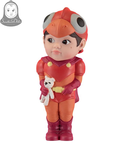 Sweetheart Boy Superhero Doll White Bear - Eva Newton