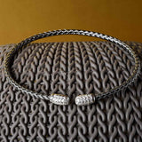 Drop of Glamour Woven Cuff