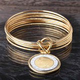 The 10 Bangle Lire Bracelet