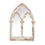 Antiqued Cathedral Window Mirror