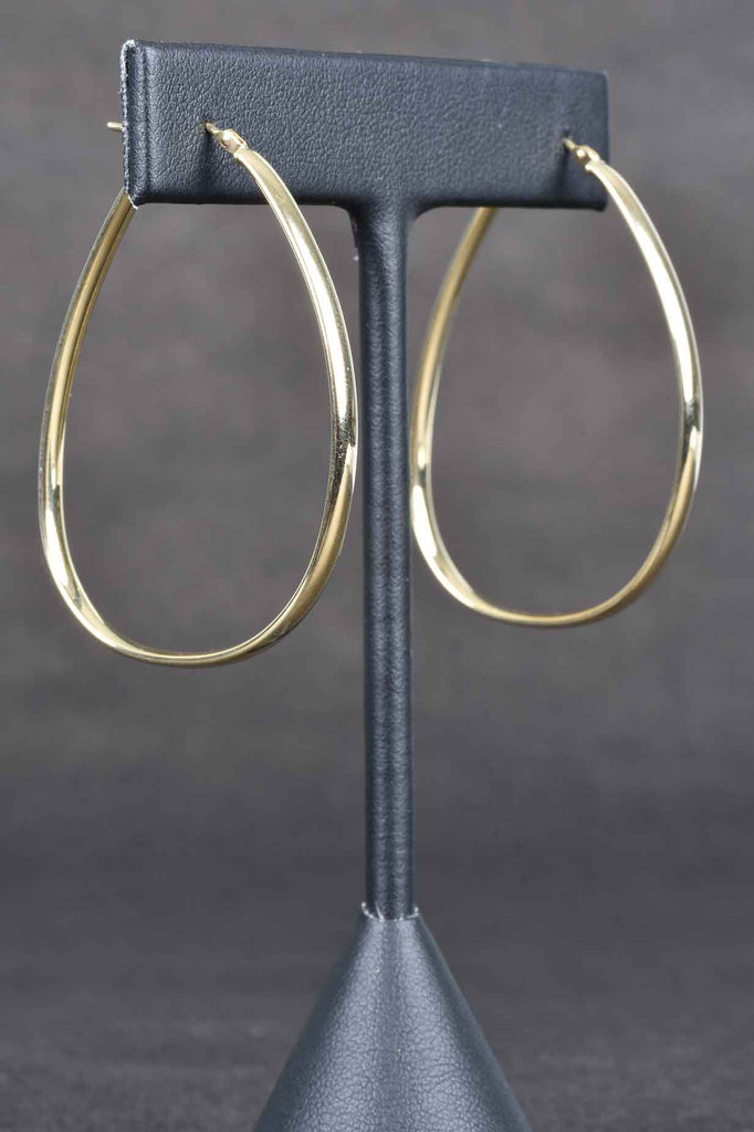 14K Gold Italian Perfect Hoop Earrings