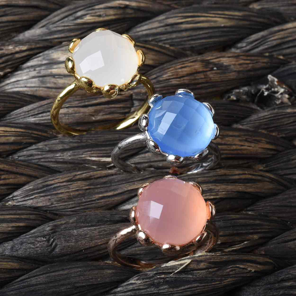 Colors of Chalcedony Ring