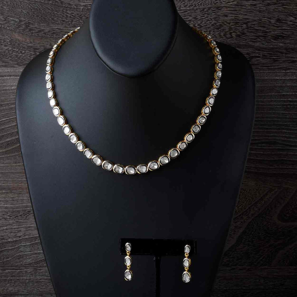 The Maharaja Diamond Necklace and Earring Set