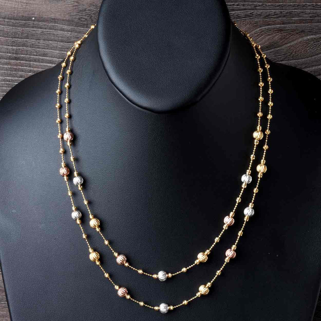 Delicate Sparkle Bead Necklace