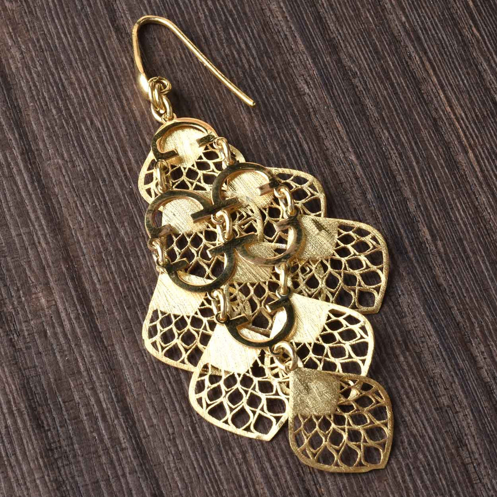 Pavone Italian Earrings