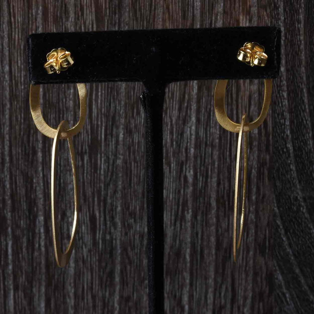 Organic Drop Earrings