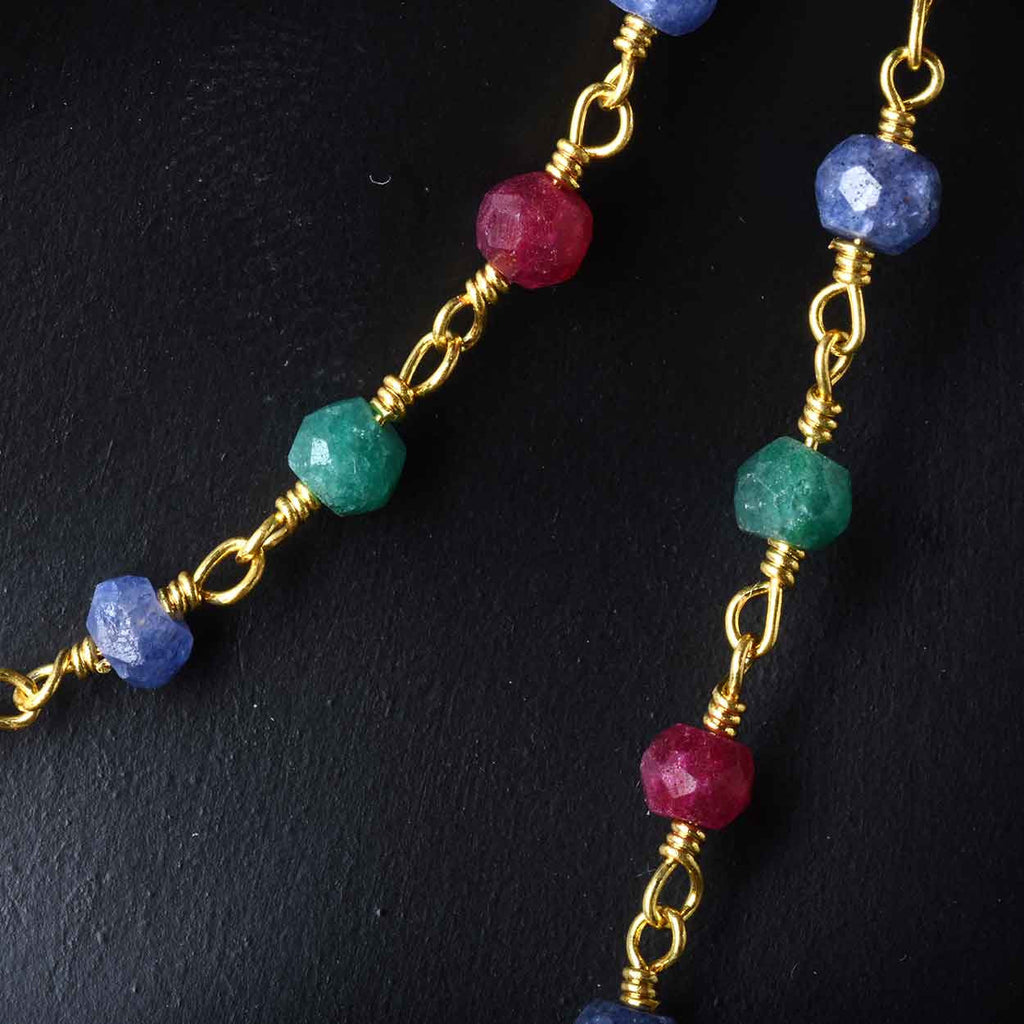 Ruby, Emerald, and Sapphire Strand