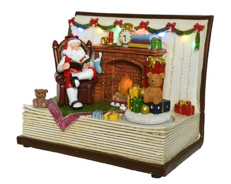 The Night Before Christmas Lighted Scene