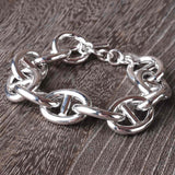 Luxury Sterling Marine Link Bracelet