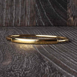 Sleek Italian Bar Top Bangle