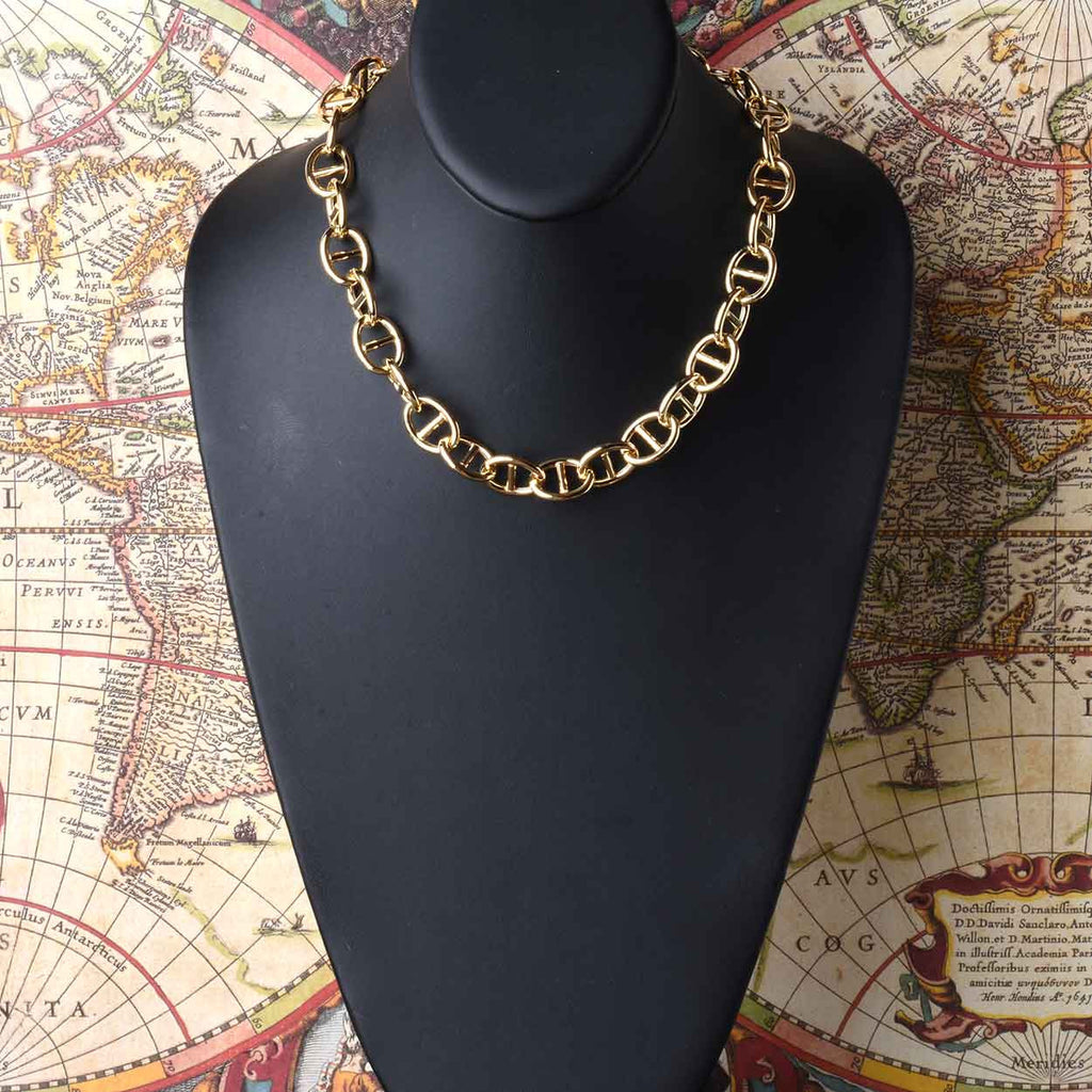 Luxury Sterling Marine Link Necklace