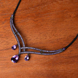 Draped in Gems Necklace