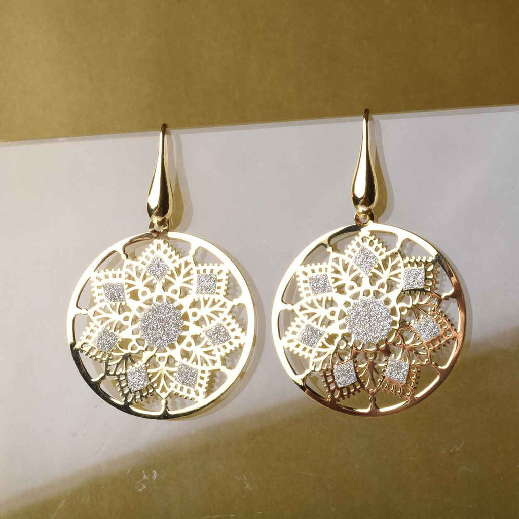 The Sparkle Snowflake Earrings