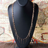 All Around Fringe Necklace