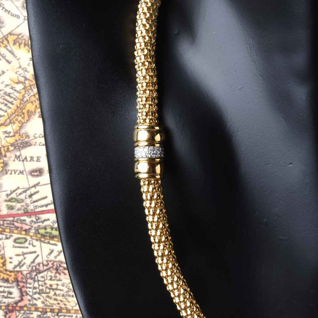 Milano Popcorn Chain Necklace