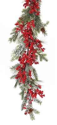 Pine and Berry Garland