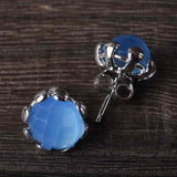 Colors of Chalcedony Earrings