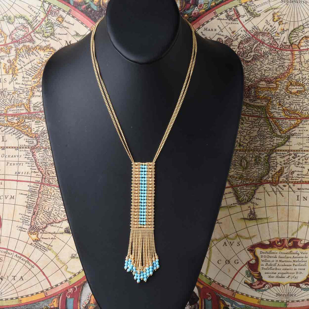 Florence Fringe Necklace
